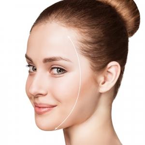 """Redessiner l'ovale du visage et atténuer les """"bajoues"""""""